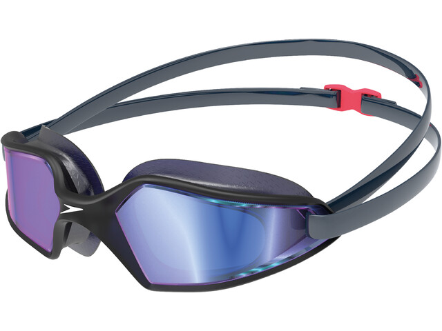 speedo Hydropulse Mirror Goggles navy/oxid grey/blue